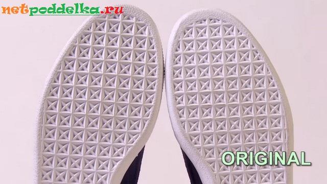 Носок оригинальной обуви