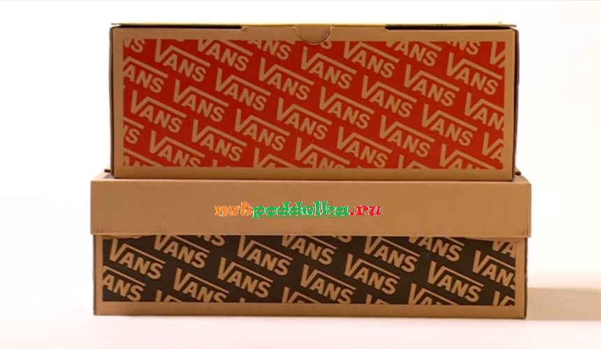 Определение подделки Vans