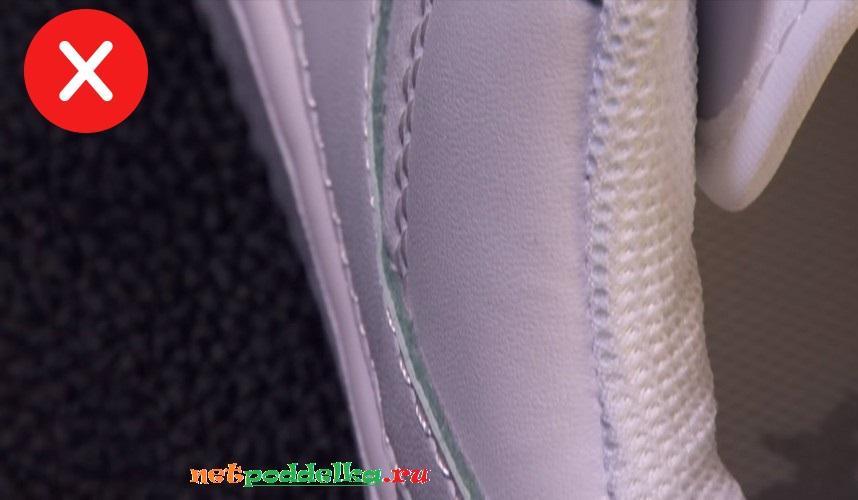 Зеленоватый оттенок у фальшивки