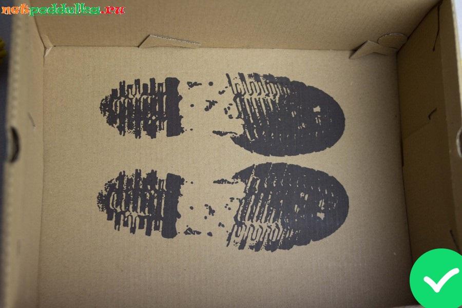 Рисунок в виде отпечатков протектора