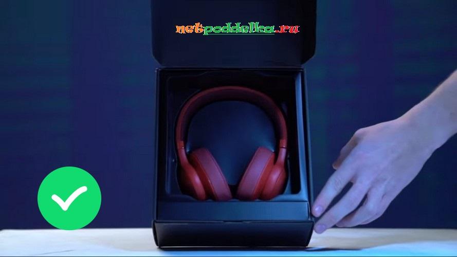 Расположение ушей в коробке
