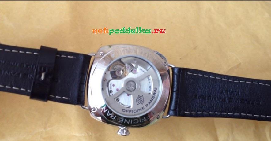 Часы с прозрачной крышкой